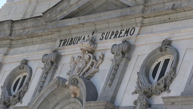 Facahda de la sede del Tribunal Supremo
