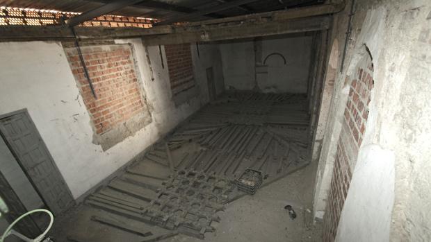 La Casa del Capellán de Madre de Dios, en un estado ruinoso