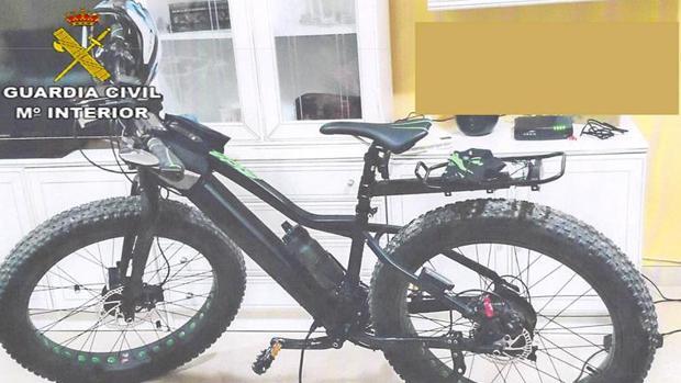 Bicicleta sustraída por la Guardia Civil