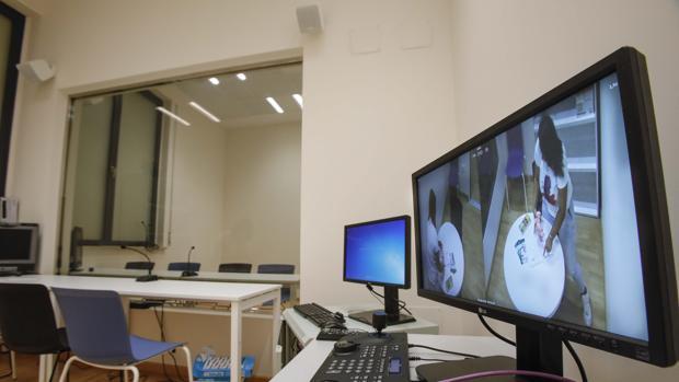 Sala Gesell instalada en los juzgados de Sevilla