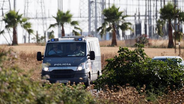 El furgón policial que llevó a los miembros de la Manada a Sevilla I el pasado 21 de junio