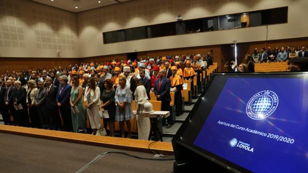 Acto solemne de inauguración del curso académico en la Universidad Loyola