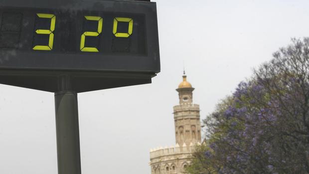 Las temperaturas subirán en Sevilla durante el primer tramo de la semana