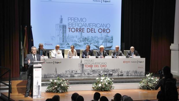 Entrega del Premio Iberoamericano Torre del Oro 2019