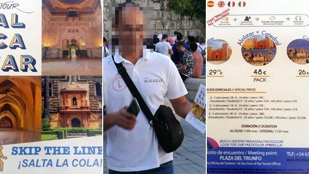 Ejemplos de ofertas en las que se evita hacer cola al visitante del Alcázar de Sevilla