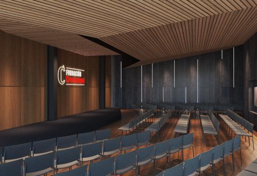 El futuro auditorio de la Fundación Cruzcampo
