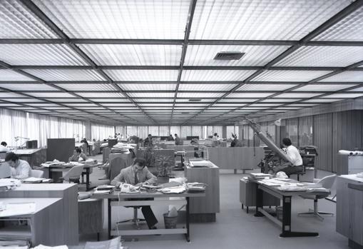 Edificio pionero en Sevilla en el concepto de oficina abierta