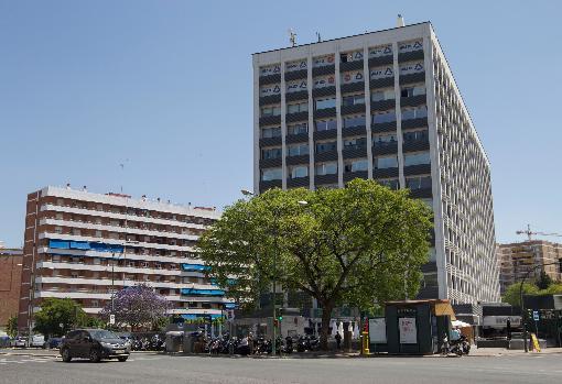 Edificio Sevilla 1, en Nervión