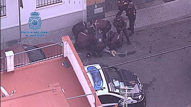Detenido en Bellavista por agredir a los policías cuando intentaban identificarle