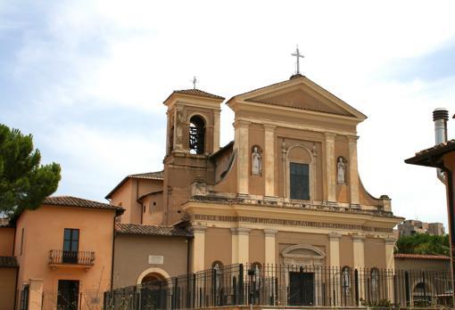 Basílica de San Valentín en la ciudad italiana de Terni