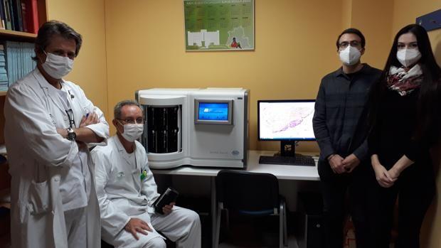 El Hospital de Valme afina y agiliza con inteligencia artificial el diagnóstico del cáncer de próstata