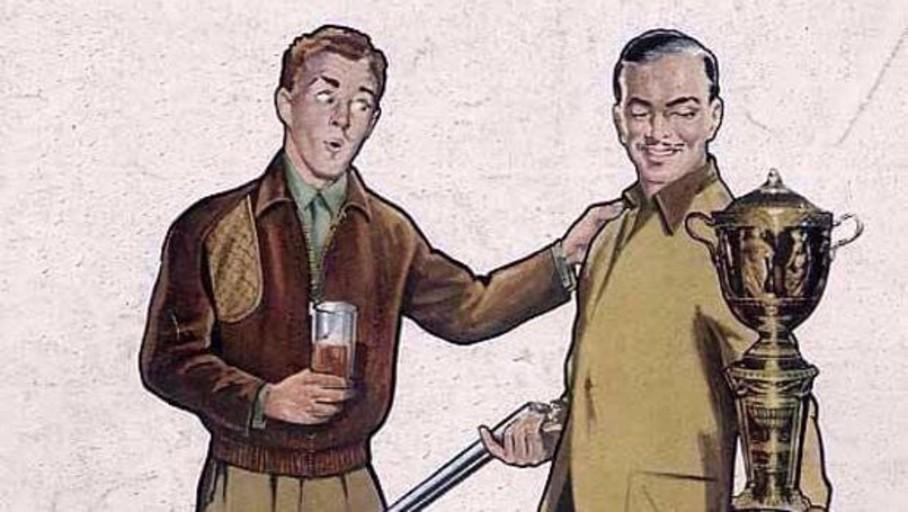 «Antes de viajar, una copa de coñac»: así era la publicidad de bebidas alcohólicas y tabaco en el pasado