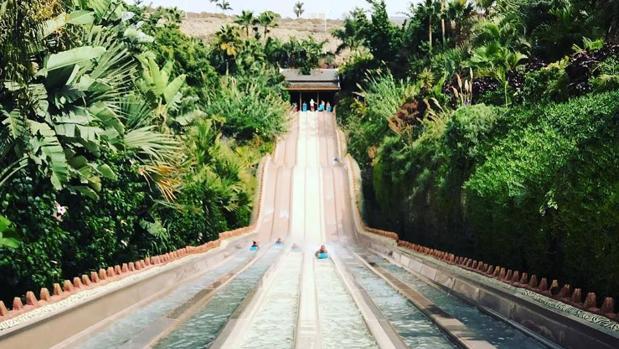 Una de las atracciones de Siam Park, en Tenerife