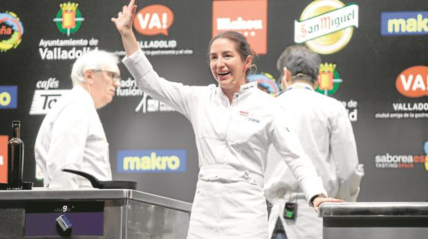 Elena Arzak, en Madrid Fusión