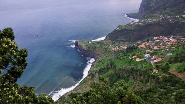 Imagen aérea de Madeira, «Destino de isla líder en Europa»