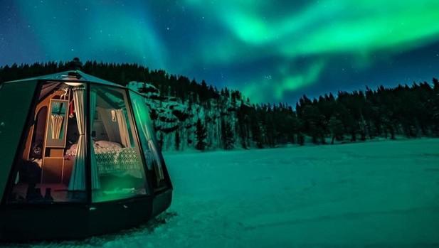 El hotel North Pole Igloos, que abrirá sus puertas en abril de 2020
